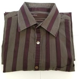 PERRY ELLIS Dress Shirt Size M Men